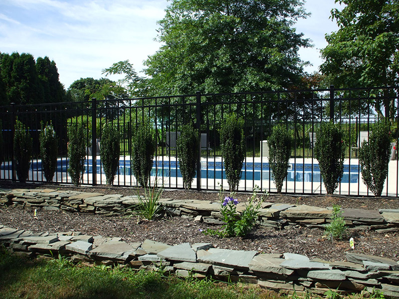 Swimming Pool Fencing And Retaining Walls Yorktown Pools